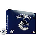 Bridgestone e6 Vancouver Canucks Golf Balls - 12 Pack