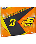 Bridgestone e6 SOFT Yellow Golf Balls - 12 Pack
