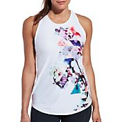 CALIA by Carrie Underwood Women's Flowy Strappy Printed Tank Top