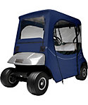 Classic Accessories Fairway FadeSafe E-Z-GO Navy Golf Cart Enclosure