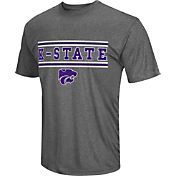 Colosseum Athletics Men's Kansas State Wildcats Grey Matrix T-Shirt