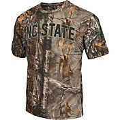 Colosseum Athletics Men's NC State Wolfpack Camo Brow Tine T-Shirt