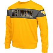 Colosseum Athletics Men's West Virginia Mountaineers Gold Defender Crew