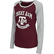 Colosseum Athletics Women's Texas A&M Aggies Maroon Healy Long Sleeve Shirt