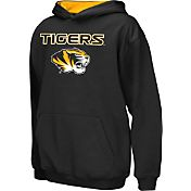 Colosseum Athletics Boys' Missouri Tigers Black Poly Fleece Hoodie
