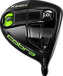 Cobra KING F6 Driver - Grey Turbulence