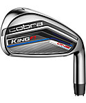 Cobra KING F7 One Length Irons - Graphite