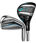 Cobra Women's KING F7 Hybrid/Irons - Graphite (Lexi Blue)