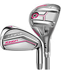 Cobra Women's KING F7 Hybrid/Irons - Graphite (Raspberry)