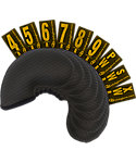 Club Glove Gloveskin Iron Headcovers - 9 Pack