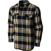 Columbia Men's Missouri Tigers Black Plaid Flare Gun Flannel Long Sleeve Shirt