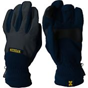 Columbia Michigan Wolverines Overlay Gloves