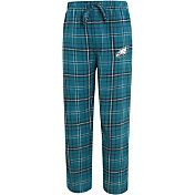 Concepts Sport Men's Philadelphia Eagles Ultimate Flannel Green Pants