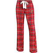 Concepts Sport Women's Louisville Cardinals Cardinal Red/Black Captivate Plaid Sleep Pants