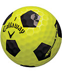 Callaway New Chrome Soft Truvis Yellow Golf Balls - 12 Pack