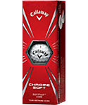 Callaway New Chrome Soft Golf Balls - 3 Pack