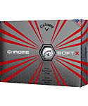 Callaway Chrome Soft X Golf Balls - 12 Pack