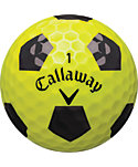 Callaway Chrome Soft X Truvis Yellow Golf Balls - 12 Pack