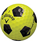 Callaway New Chrome Soft Truvis Yellow Golf Balls - 3 Pack