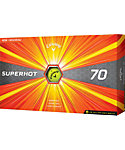 Callaway Superhot 70 Yellow Golf Balls - 15 Pack