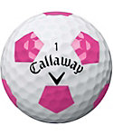 Callaway Chrome Soft Limited Edition Truvis Pink Golf Balls - 12 Pack