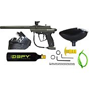 D3fy Conqu3st Paintball Gun Kit