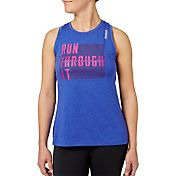 Reebok Women's Run Through It Graphic Tank Top