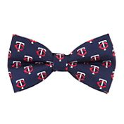 Eagles Wings Minnesota Twins Repeating Logos Bow Tie