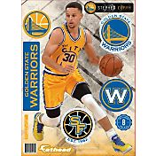Fathead Golden State Warriors Stephen Curry City Teammate Player Wall Decal