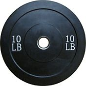 Fitness Gear Pro 10 lb Olympic Rubber Bumper Plate
