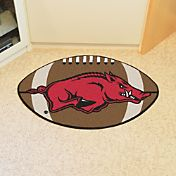 FANMATS Arkansas Razorbacks Football Mat