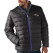 G-III Men's Baltimore Ravens Sky Box Full-Zip Black Packable Jacket