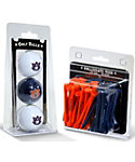 Team Golf Auburn Tigers NCAA Golf Balls And Tees