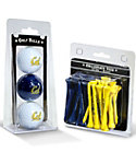 Team Golf Cal Bears NCAA Golf Balls And Tees
