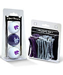 Team Golf Kansas State Wildcats NCAA Golf Balls And Tees