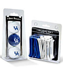 Team Golf Kentucky Wildcats NCAA Golf Balls And Tees
