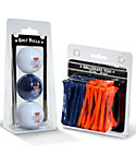 Team Golf Illinois Fighting Illini NCAA Golf Balls And Tees