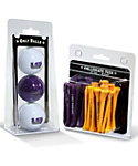 Team Golf LSU Tigers NCAA Golf Balls And Tees