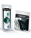 Team Golf Michigan State Spartans NCAA Golf Balls And Tees