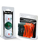 Team Golf Miami Hurricanes NCAA Golf Balls And Tees