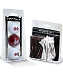 Team Golf Mississippi State Bulldogs NCAA Golf Balls And Tees