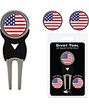 Team Golf USA Flag Divot Tool