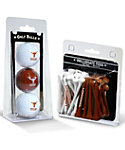 Team Golf Texas Longhorns NCAA Golf Balls And Tees