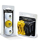 Team Golf Iowa Hawkeyes NCAA Golf Balls And Tees