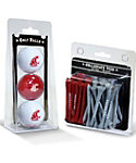 Team Golf Washington State Cougars NCAA Golf Balls And Tees