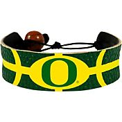 Oregon Ducks Team Color Basketball Bracelet