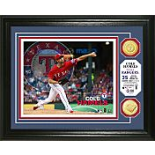 Highland Mint Texas Rangers Cole Hamels Photo Mint