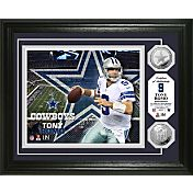 The Highland Mint Dallas Cowboys Tony Romo Framed Silver Coin Photo Mint
