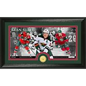 Highland Mint Minnesota Wild Ryan Suter Panoramic Photo and Commemorative Coin Mint