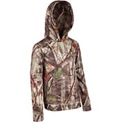 Huntworth Boys' Camo Fleece Hoodie